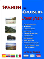 SPANISH FOR CRUISERS Jump Start Course Book cover