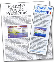 French for Cruisers Reviews in the Nautical Press
